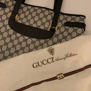 Rare Gucci Accessories Collection Monogram Tote